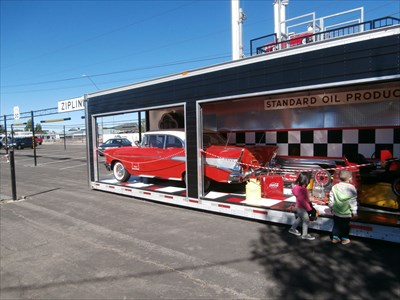 Route 66 Zipline -- Williams AZ
