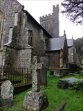 Image for St Martins - Churchyard - Laugharne, Carmarthenshire, Wales.