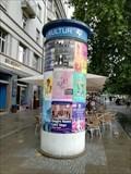 Image for Kultursäule - Marienplatz - Stuttgart, Germany, BW