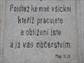 Image for Holy Bible - Mat. 11.28. - Vítovice, Czech Republic