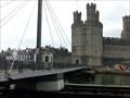 Image for Aber - Pedestrian Suspension Bridge - Caernarfon, Wales, Great Britain.