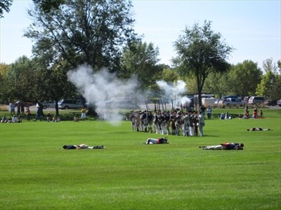 Revolutionary War Reenactment - Wheaton, IL - Historic