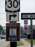 Image for Lincoln Highway Marker, Nassau & Cedar  -  East Canton, OH