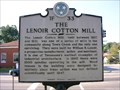 Image for THE LENOIR COTTON MILL ~ 1F 33