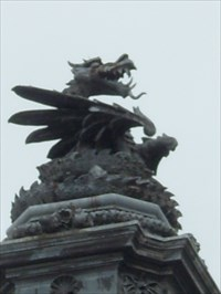 Welsh Dragon - Cardiff, Capitol of Wales.