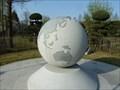 Image for Earth Globe at UN Memorial - Hannam University  -  Daejeon, Korea