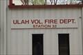 Image for Ulah Vol. Fire Dept. Station 32