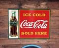 Image for Sundae School Ice Cream Vintage Coke Signs  -  Dennisport, MA