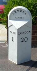 Image for Mile stone - London Road, Ware, Hertfordshire, UK.