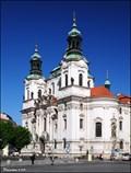 Image for St. Nicholas Church in the Old Town Square / Chrám sv. Mikuláše na Staromestském námestí (Prague)