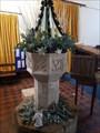 Image for Baptism Font - St Andrew - Barningham, Suffolk