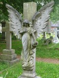 Image for Maddock Headstone Angel - Christ Church Alsager, Cheshire, UK.