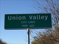 Image for Union Valley, TX - Population 307