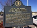 Image for Trail of Tears John Benge Route Fort Payne, Alabama to Oklahoma