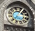Image for Clock of Christuskirche - Ulm, Germany, BW