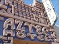 Image for Historic Route 66 - Aztec Hotel - Monrovia, California, USA.