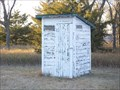 Image for Greenleaf Church Outhouse, Miller, South Dakota