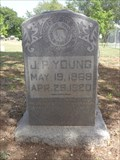 Image for J.P. Young - Mt. Zion Cemetery - Midlothian, TX