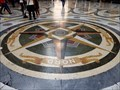 Image for Galleria Umberto I Compass Rose - Naples, Italy