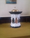 Image for Baptism Font - St. Mary's Cathedral - Kingston, Ontario
