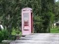 Image for Red Telephone Box - Fort Denaud, Florida, USA