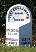 Image for Milestone - Harrogate Road, Leeds, Yorkshire.
