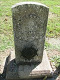 Image for Samuel Steele - Mount Comfort Cemetery - Greene County, Missouri