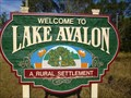 Image for Lake Avalon - Artistic Welcome Sign - Winter Garden, Florida, USA.