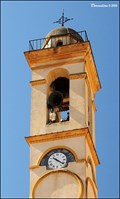 Image for Clock on bell tower of the Church of Annunciation (Corte, Corsica)