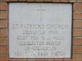 Image for 1949 - St. Patrick's Church - Navasota, TX