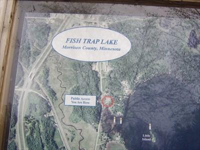 Fish trap lake public water access lincoln mn 39 you for Fish trap lake mn