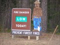 Image for Smokey Bear @ Lincoln County Forest -  Tomahawk, Wisconsin