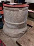 Image for Norman Font - St Cattwg - Llanmaes, Vale of Glamorgan, Wales.