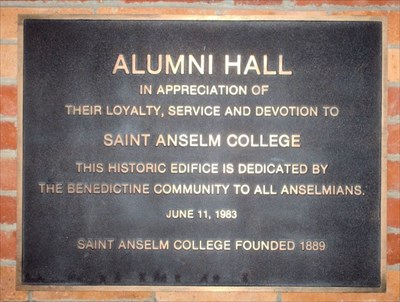 St Anselm Campus Map.St Anselm Of Canterbury St Anselm College Manchester Nh
