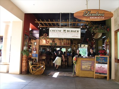 Cheeseburger in Paradise - Wailea, Maui, Hawaii - Jimmy