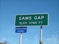 Image for Sams Gap - NC/TN Border