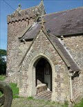 Image for Knights Templar - Medieval Church - Llanmadoc, Wales. Great Britain.