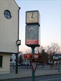Image for Street clock, Pruhonice, CZ