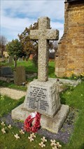 Image for Memorial Cross - All Saints - Great Bourton, Oxfordshire, UK