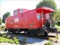 Image for Norfolk & Western Railway Caboose, Abingdon, Virginia