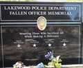Image for Lakewood Police Department Fallen Officer Memorial