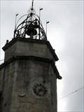 Image for La torre del reloj del Pazo de Bendana- Betanzos, A Coruña, Galicia, España