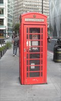Image for Red Telephone Box, Bressedden Place, London SW1.