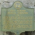 Image for Old Jewish Burial Ground - Savannah, GA