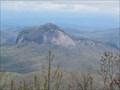 Image for Looking Glass Rock - Satellite Oddity - Blue Ridge Parkway - North Carolina, USA.