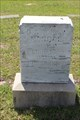 Image for EARLIEST Marked Grave in Starr Cemetery - Canton, TX