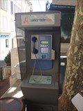 Image for A payphone, Le Cannet, Rue Saint-Sauveur