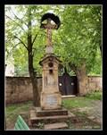 Image for Churchyard Cross at Sv. Jiljí (St Giles) Church, Železnice - Czech Republic