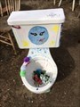 Image for Painted Toilet in Chairy Orchard - Denton, TX