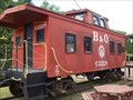 Image for B&O caboose #C-2229 - Salem, West Virginia